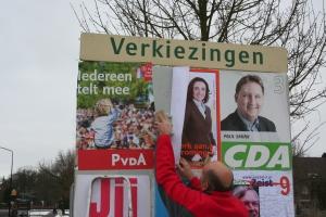 VVD bijplakken