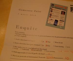Enquete ZeistLink