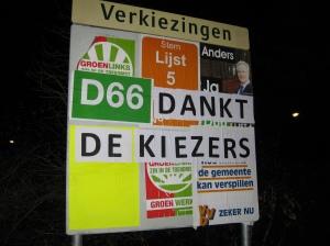 D66 dankt de kiezers