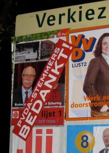 PvdA-stemmers bedankt