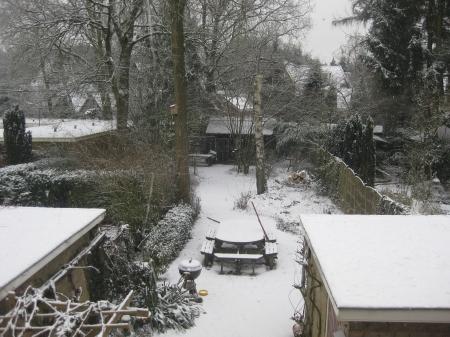 Sneeuw op 8 maart