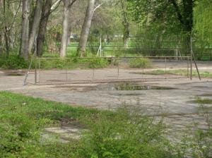 hongaars tennisveld