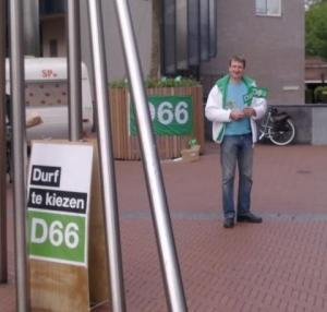 Hylke op Belcour, D66 Zeist
