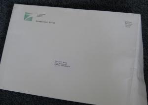 envelop van de gemeente