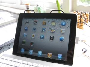 iPad aan het werk
