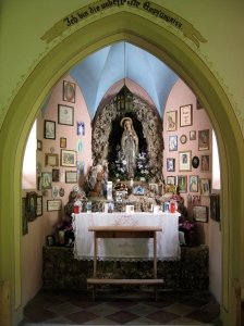 altaar kapelletje Karthaus OLV