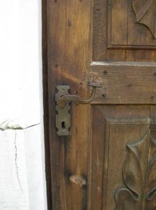 deur kapelletje Karthaus OLV