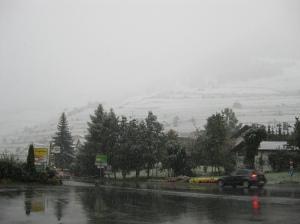 sneeuw in september