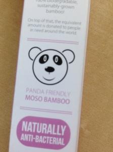 pandavriendelijke bamboe